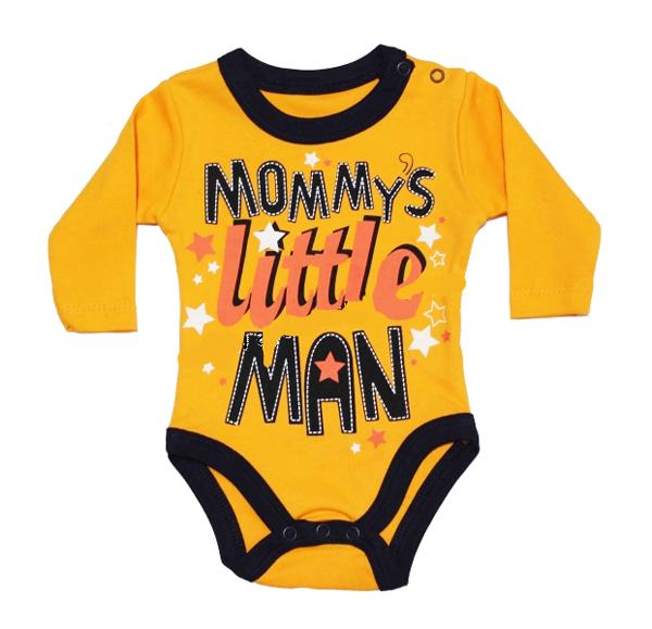BABY COOL Little Man Baskılı Bebe Badi