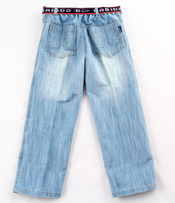 Kemerli Buz Mavi Erkek Kot Pantolon - dosya_3_renk