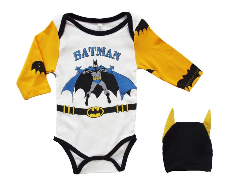 Bebeci Batman Şapkalı Badi