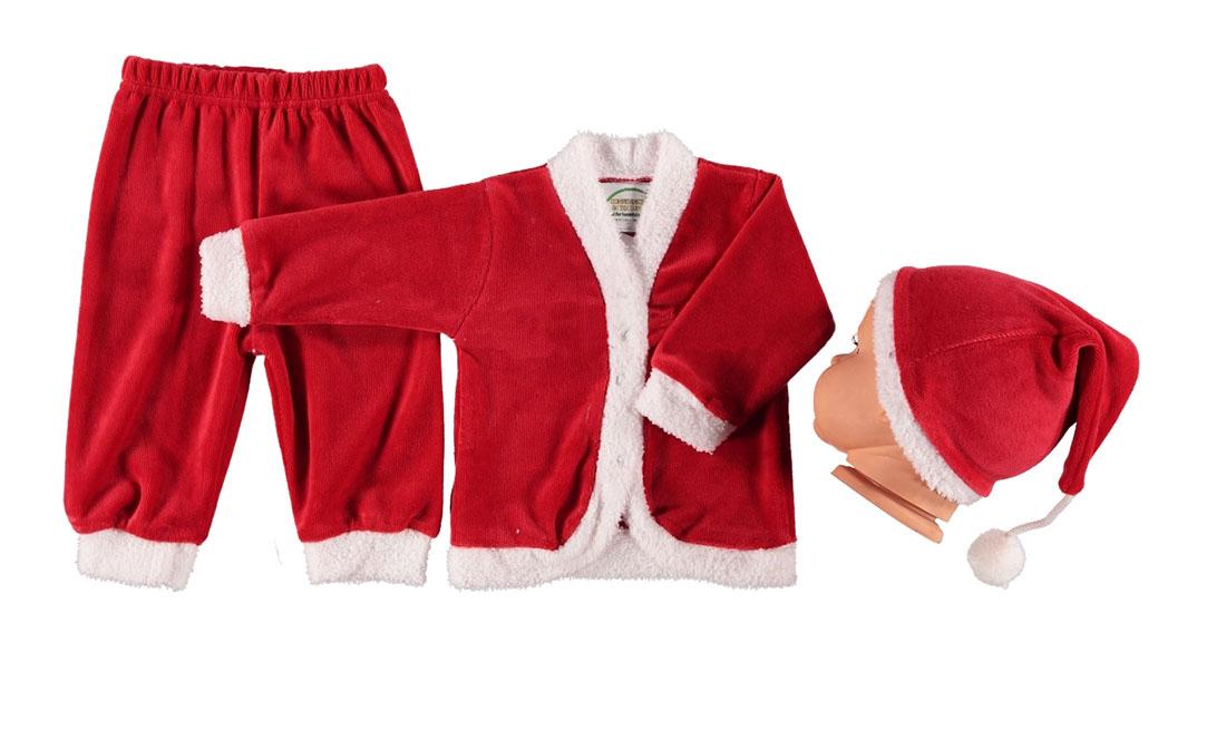 GÖKNES Yılbaşına Özel Polar Noel Baba Kostüm