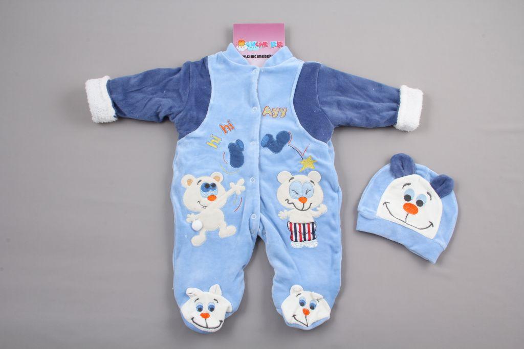 Ayılı Kışlık Bebek Uyku Tulumu - dosya_4_renk