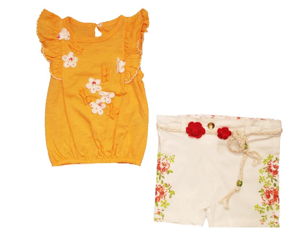 Flexi Çiçekli Bebe Takım