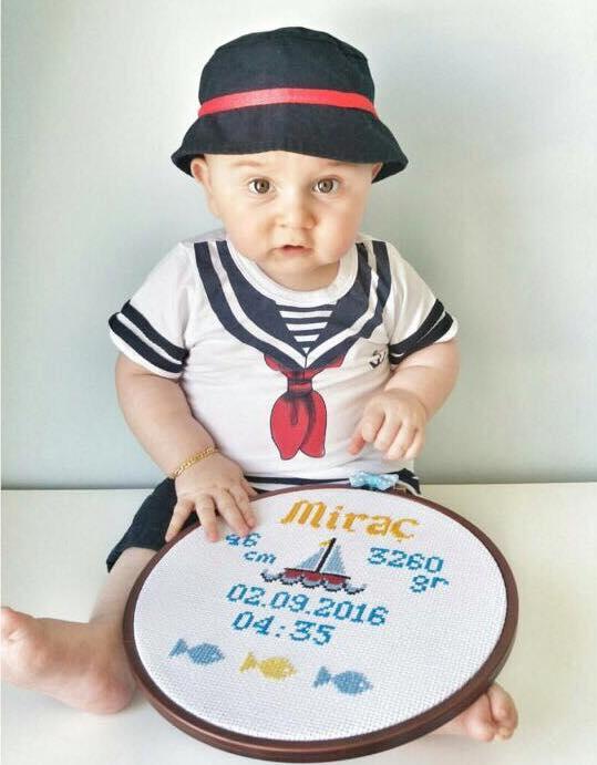 Sermino Denizci Şapkalı Şortlu Takım