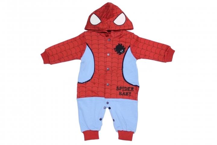 Necix Örümcek Adam Kostüm Bebe Tulum