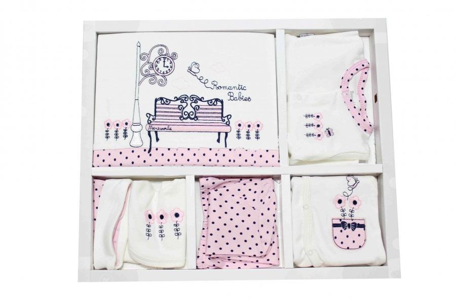 Miniworld Romantik Bank 10'lu Bebe Zıbın Seti