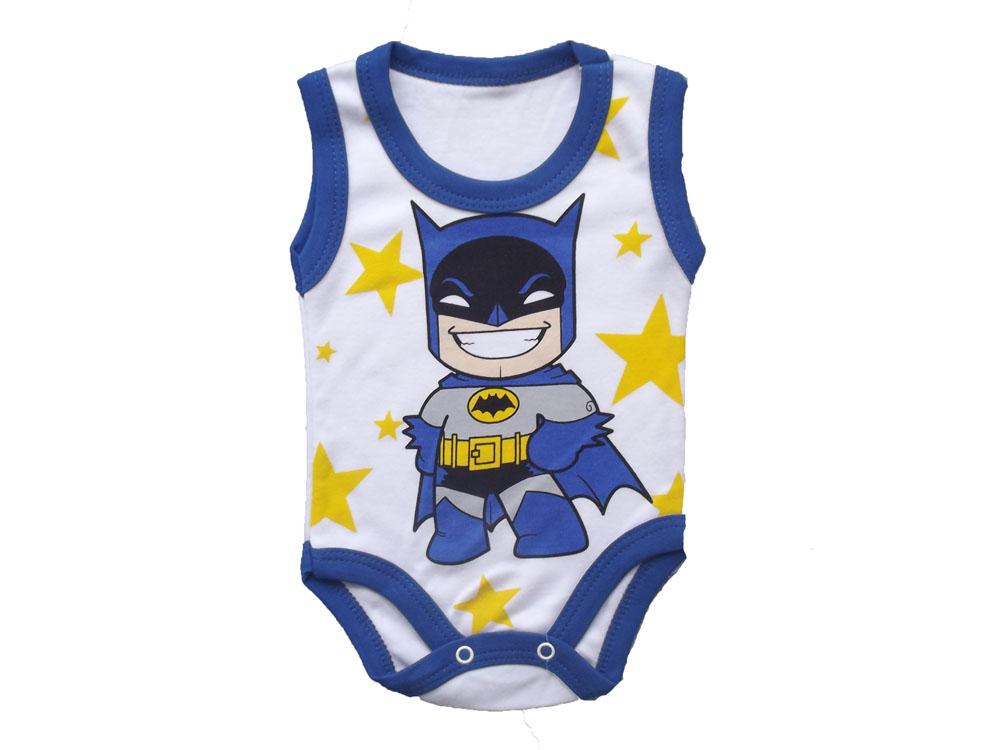 Bebeci Batman Çıtçıtlı Badi