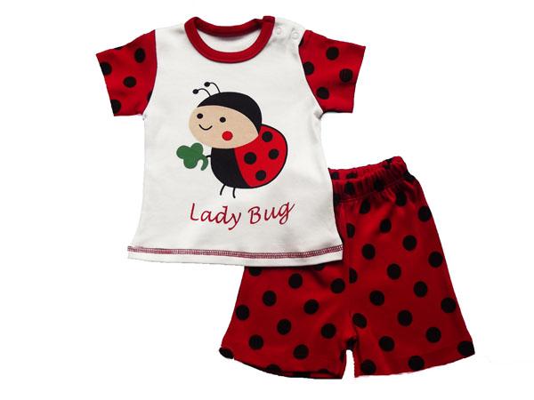 PEARLY Uğur Böceği Bebe Takım