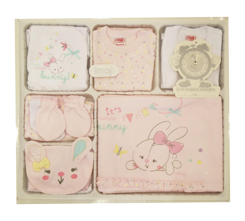 İmaj Tavşanlı 10 Parça Bebe Zıbın Seti