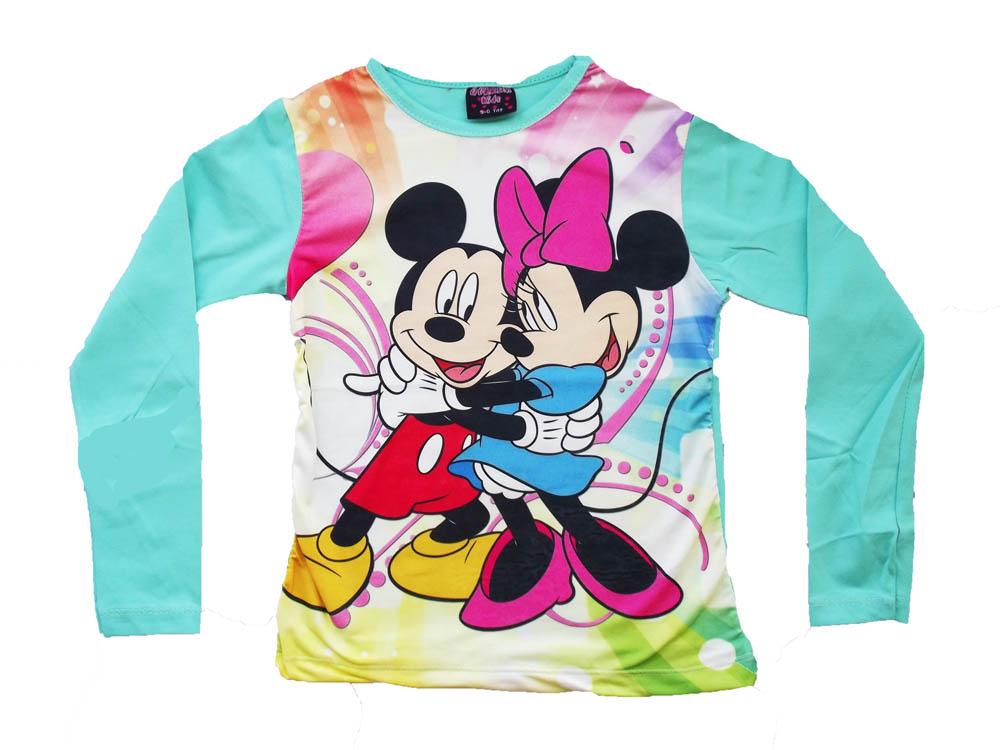 Fare Digital Baskılı Kız Sweatshirt