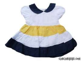 Yakalı Kız Elbise