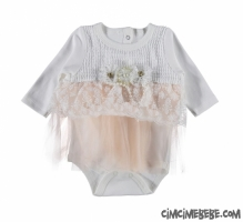 Güpürlü Badili Elbise