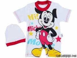 Sevimli Yıldız Mickey Kısa Tulum