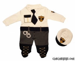 Polis Kostüm Bebe Tulum