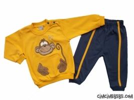 Maymun Aplikeli Bebe Takım