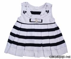 Bahriyeli Denizci Bebe Elbise