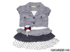 Bolerolu Kız Elbise