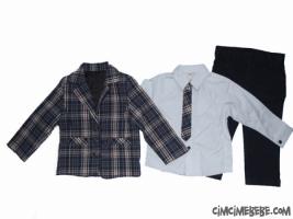 Ceketli 3'lü Erkek Takım