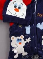 Ayılı Kışlık Bebek Uyku Tulumu - dosya_3_renk