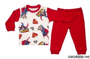Süper Adam Pijama Takımı