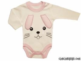 Tavşan Figürlü Bebe Badi