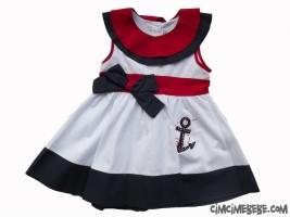 Taş İşlemeli Denizci Elbise