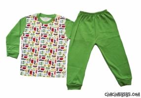 Arabalı Pijama Takımı