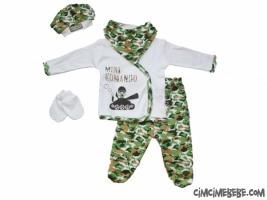 Mini Komando 5'li Bebe Zıbın