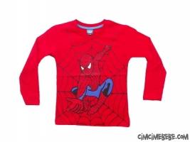Örümcek Adam Baskılı Penye Sweatshirt