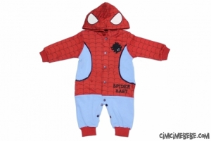 Örümcek Adam Kostüm Bebe Tulum