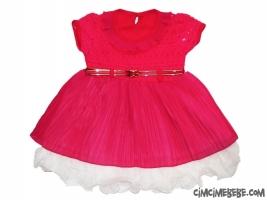 Kemerli Bebe Elbise