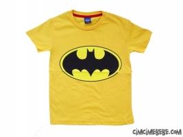 Batman Baskılı Kısa Kollu Erkek Tshirt