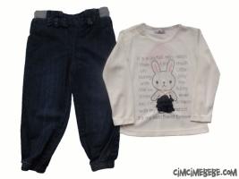Kot Pantolonlu Tavşanlı Takım