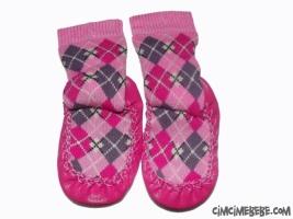 Ekoseli Çarık Çorap