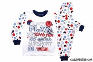 Always Play Baskılı Erkek Pijama Takımı