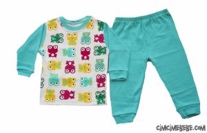 Kurbağalı Pijama Takımı