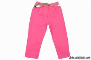 Renkli Kız Kot Pantolon