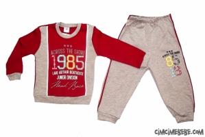 1985 Baskılı Penye Erkek Eşofman Takımı