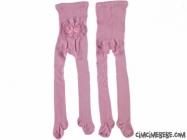 Poposu Fırfırlı Külotlu Çorap