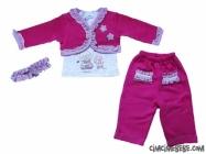 Lux Selanik Cepkenli Bebe Takım