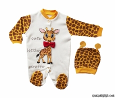 Sevimli Zürafa Tulum