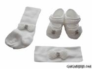 Ayakkabı-Bandana-Çorap Set