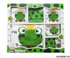 Kurbağa Prens 10 Parça Zıbın Seti