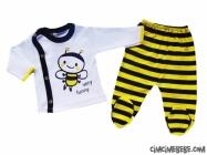 Arı İkili Bebe Zıbın