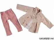 Ceketli 3'lü Kız Takım