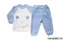 Puanlı Ayıcıklı Pijama Takımı