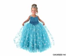 Prenses Pelerinli Abiye Elbise