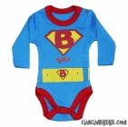 Süpermen Bebe Badi