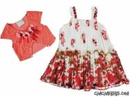 Dantel Bolerolu Kız Elbise