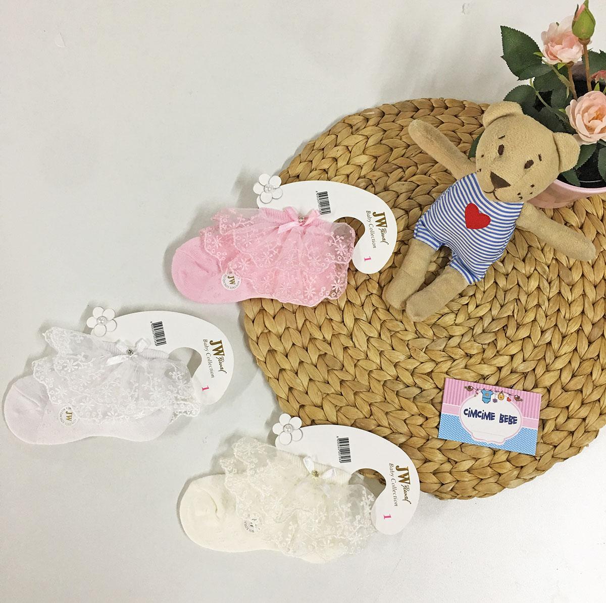 Parfümlü Bebek Çorabı