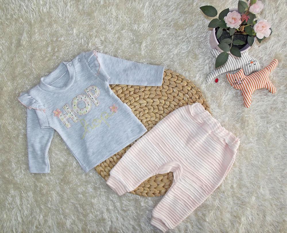Hop Kız Bebek Takım